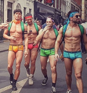 PHOTOS: Hot, shirtless chaps had a jolly good time at London Pride over the weekend