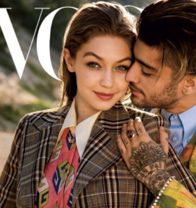 """Vogue hailed Zayn Malik and Gigi Hadid as """"gender fluid"""" — and Twitter is having a field day"""