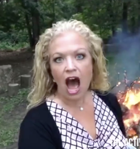 Activist Mommy pauses burning 'Teen Vogue' to help turn a gay man straight