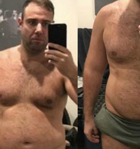 Overweight, bankrupt gambler transforms his body to win $500K. The results are astonishing.