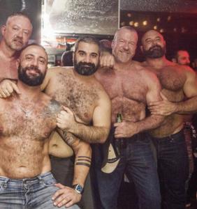 PHOTOS: Big burly bears go wild in Madrid