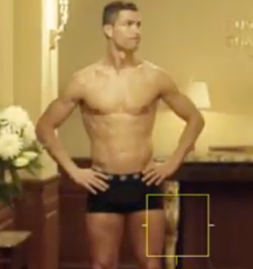 What happens when Cristiano Ronaldo is locked out of his hotel in his boxer-briefs?