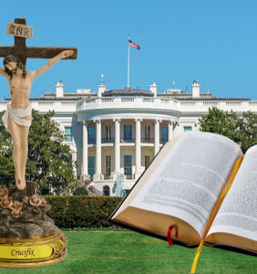 Trump's top Cabinet members attend a weekly White House Bible study together