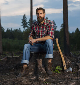 This gay man can't stop crushing on his sexy lumberjack uncle