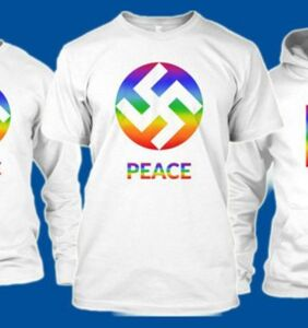 Clothing company under fire for 'bringing back' the LGBTQ swastika