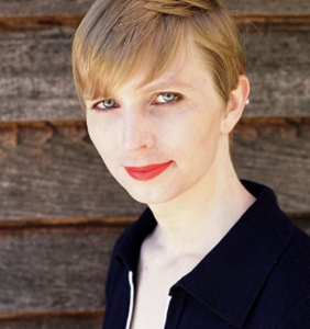 Chelsea Manning slays in a red bathing suit for the September issue of 'Vogue'