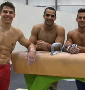 Olympic gymnast's brilliant idea to increase viewership: Compete shirtless