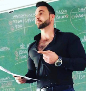 PHOTOS: Move over Pietro Boselli, there's a new sexy math teacher steaming up Instagram