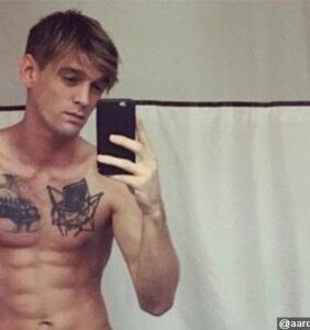 Sorry fellas, freshly out Aaron Carter is only interested in dating ladies