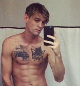 Aaron Carter prepares to relaunch his career at a gay bar