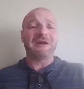Christopher Cantwell, a.k.a. the sobbing neo-Nazi, surrenders himself to police