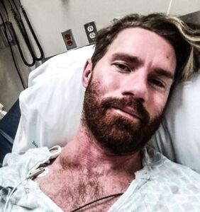 Retired adult film performer Benjamin Bradley is in the fight for his life