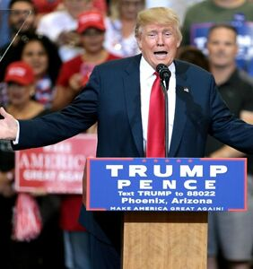 'A sh*tshow of the highest order': Twitter was NOT having Trump's racist rally in Phoenix last night