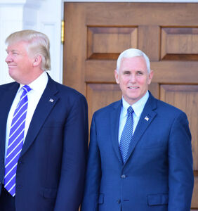 Mike Pence just said he fully supports Trump's racist comments, 'I stand with the President'