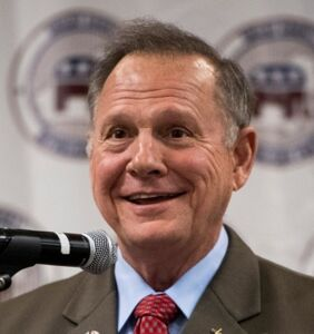 GOP Senate hopeful Roy Moore isn't sure whether gays should be put to death