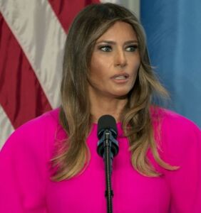 Melania Trump just gave a speech about bullying at the United Nations and Twitter can't even