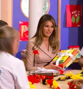 School librarian snubs Melania Trump: 'We don't want your free books'