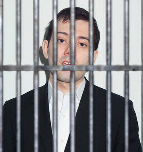 """Pharma Bro"" Martin Shkreli is finally being locked up in a prison cell"