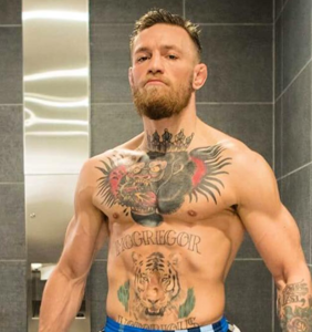 Leaked footage finds Conor McGregor boxing in fetishistic sci-fi jockstrap