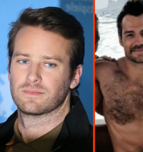 Armie Hammer admires Henry Cavill's nipples, wants the world to know