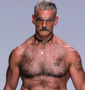 Sexy runway daddy steals the show at New York Fashion Week