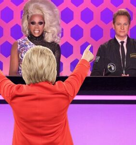 Wait, did Hillary Clinton just Tweet a 'RuPaul's Drag Race' reference?