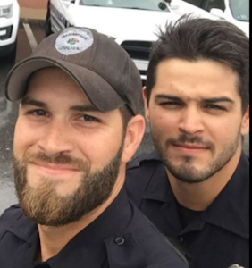 These hot cops posted a single selfie and now everyone on Facebook is fainting