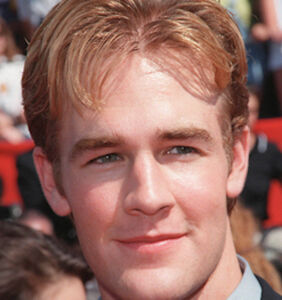 James Van Der Beek leaves little to the imagination in a tight-fitting suit