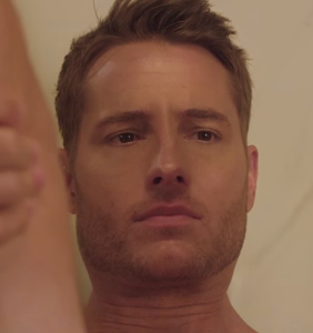 """Soap star Justin Hartley does """"romantic"""" things with his butt-crack"""