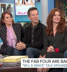 """Which """"Will & Grace"""" star openly regrets appearing with Megyn Kelly?"""