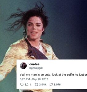 Her boyfriend looks exactly like Michael Jackson and everybody can't even