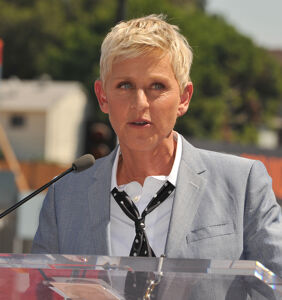 Ellen DeGeneres reveals the one little word she was forbidden from saying on TV