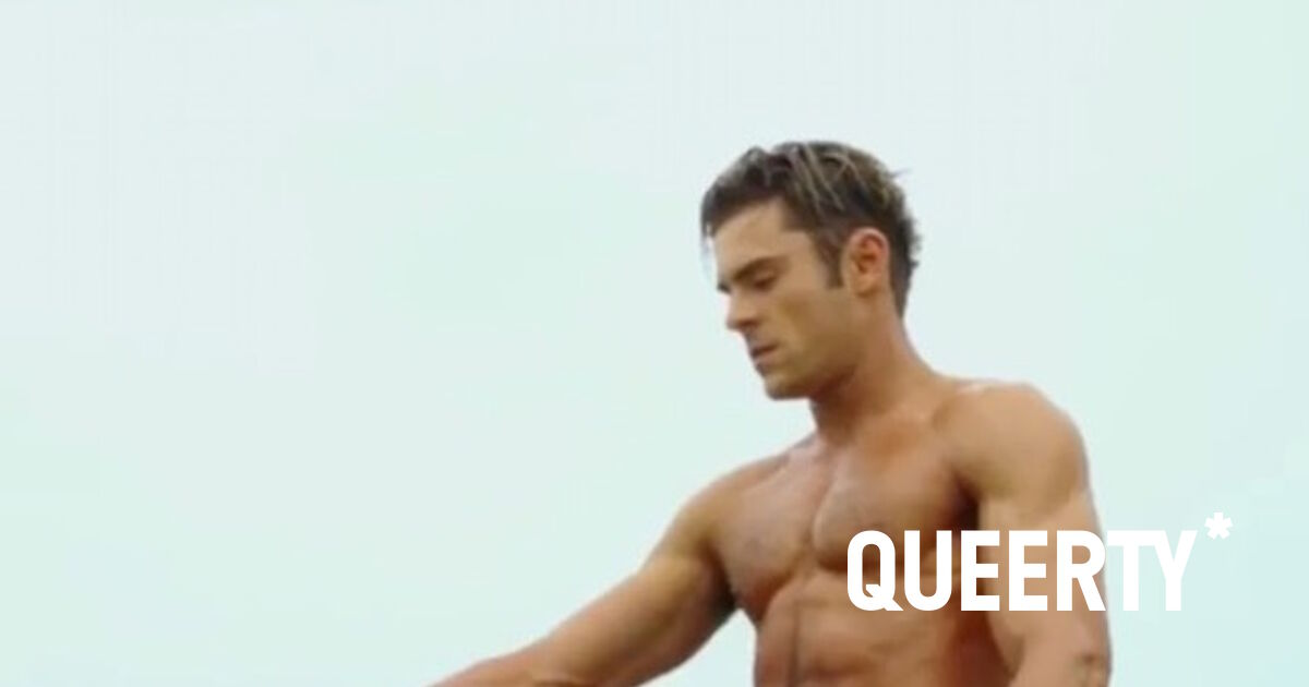 Porn Of Zac Efron - Zac Efron reveals which male actor he'd most like to film a sex scene with  / Queerty