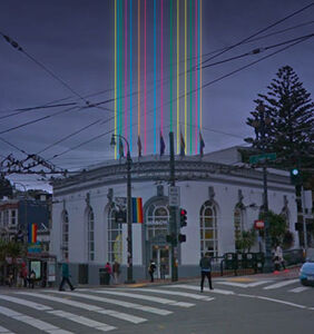 The Castro goes all rainbow lights fantastic to celebrate the 40th Harvey Milk anniversary