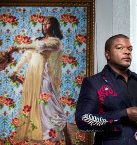 Obama picks brilliant gay artist Kehinde Wiley to paint his official portrait