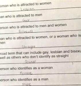 Mom furious over 6th grader's LGBTQ-themed vocabulary quiz