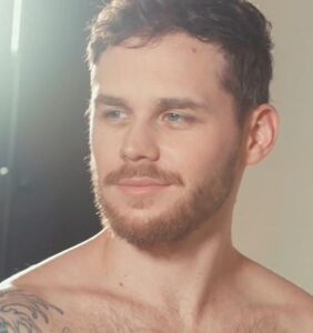 Watch Matthew Camp strip down for this photoshoot promoting sexual health