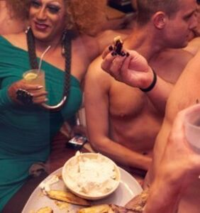 """Juanita More on how to get invited to her nude dinner parties: """"Send me naked selfies!"""""""