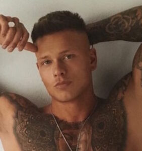 Reality star Alex Bowen leaves little to imagination in 2018 calendar