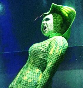PHOTOS: 'RuPaul's Drag Race' alum Alexis Michelle slays in custom Halloween snake dress