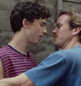 """Which intimate part of Armie Hammer's anatomy was digitally edited out of """"Call Me By Your Name""""?"""