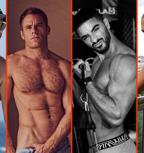 Chris Hemsworth's beach bod, Laith Ashley's guns, & Terry Miller's towel toga