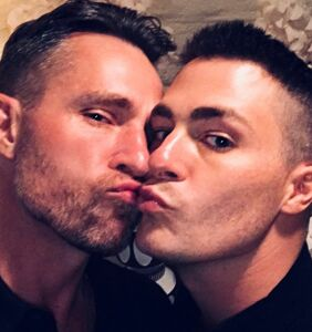 Colton Haynes just got married in a beautiful ceremony