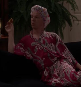 """Jack demonstrates """"The Pajama Party Position"""" in brand-new 'Will & Grace' clip"""