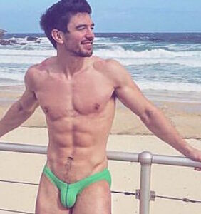 Country singer Steve Grand flaunts his wares in two scorching 2018 calendars