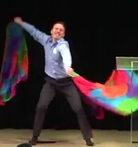 WATCH: Antigay hate group kicks off event with totally-not-gay rainbow flag dance