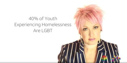 Cyndi Lauper wants to end LGBTQ youth homelessness. Here's her plan…