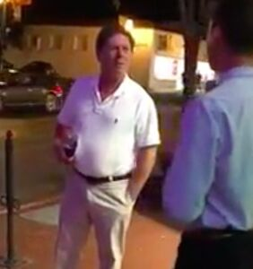 Landlord caught screaming antigay slur 12 times on video insists he's not a homophobe