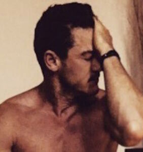 Luke Evans proudly poses in next to nothing — and the Internet can't look away