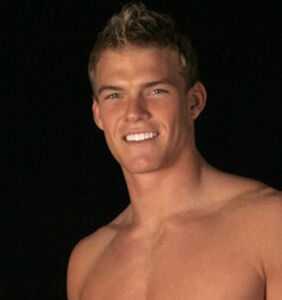 """Before his """"Hunger Games"""" break, Alan Ritchson was an underwear model. Here's the proof."""